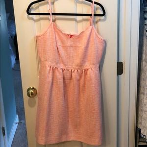 EUC j crew scalloped dress